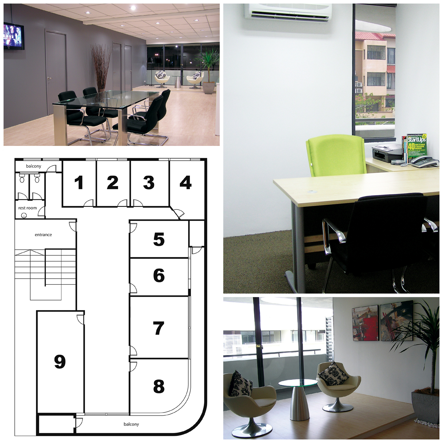 Commercial Shared Office Work Space For Rent In Kuala