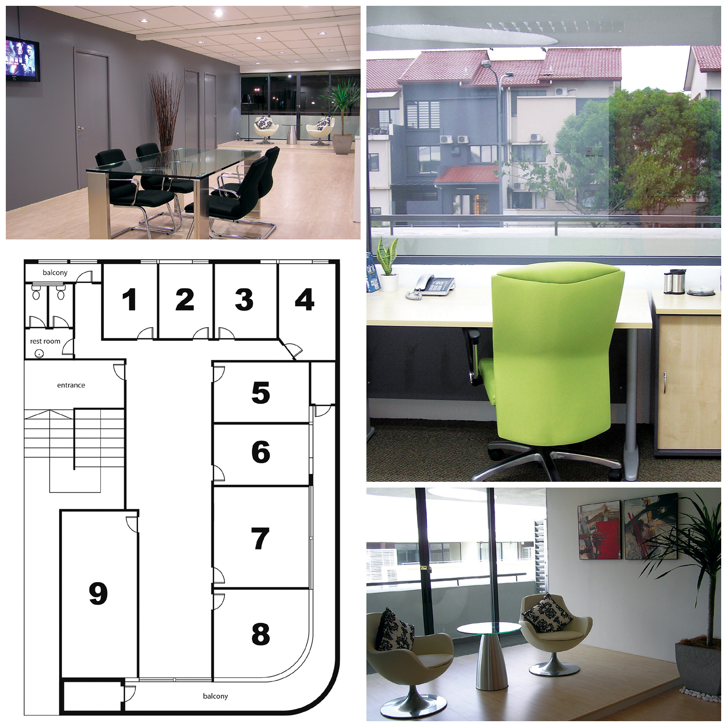 Commercial Shared Office Work Space for Rent in Kuala Lumpur – Room ...