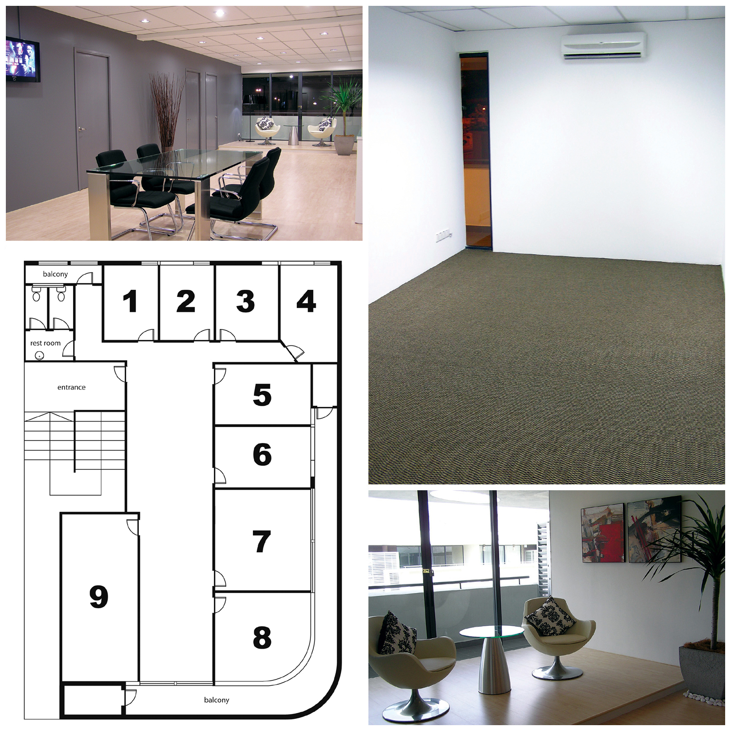 Commercial shared office work space for rent in kuala lumpur room 9 coworking space small - Shared office space for rent ...