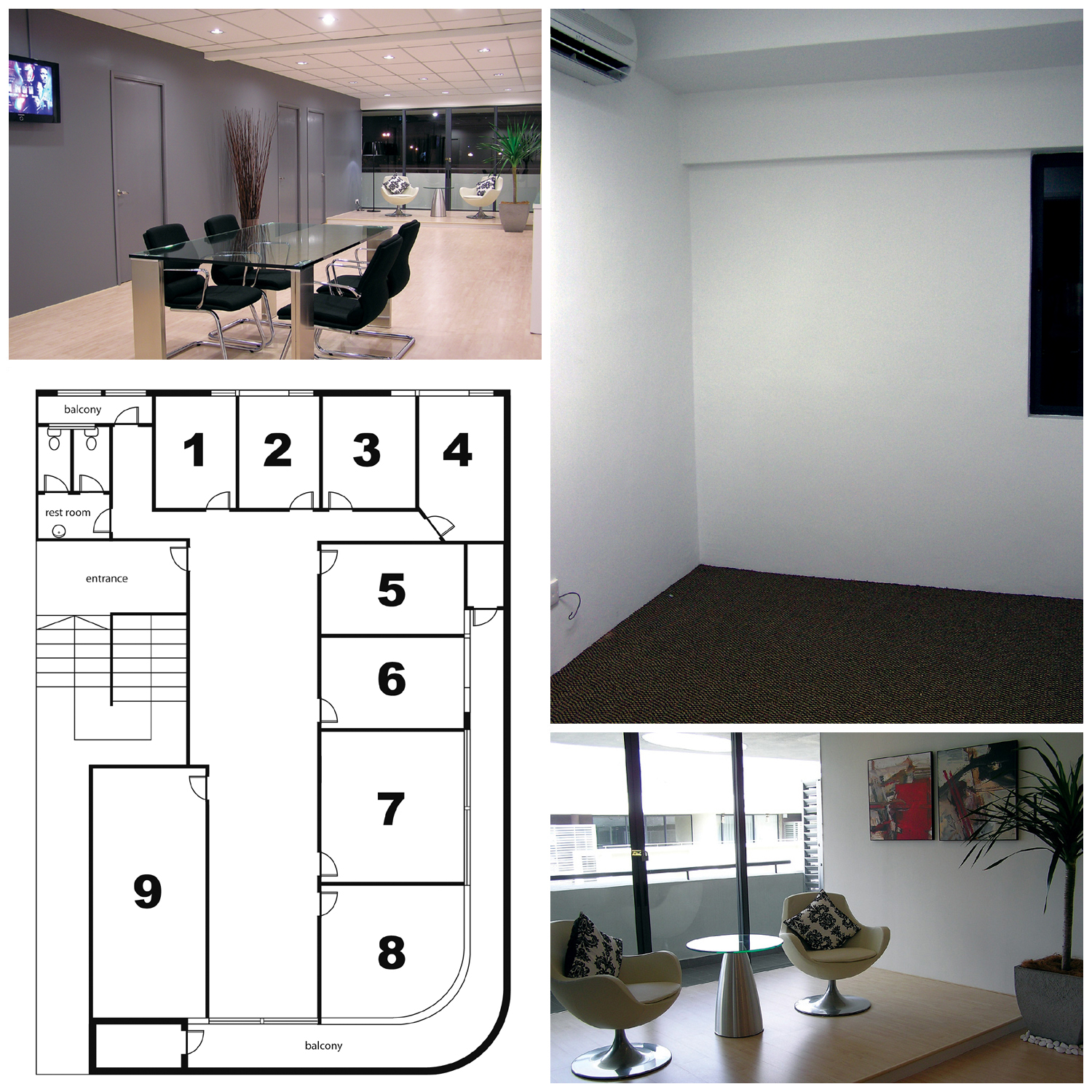 Commercial Shared Office Work Space for Rent in Kuala Lumpur - Room ...